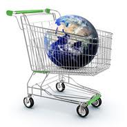 World in a shopping trolley